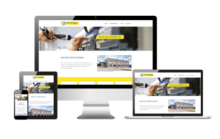 Website PETER POHL GMBH